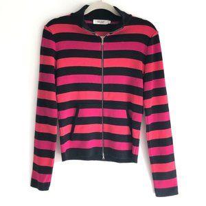Comptoir des Cotonniers Striped Knit Cardigan